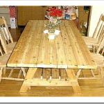 初の木工DIYは6人掛け可能なテーブルでした