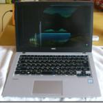 NECのノートパソコンVersaPro PC-VJ23TMZGUの液晶パネル交換 今回は人柱感が大です。