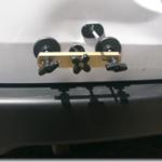 車のボディーのへこみの補修。格安のデントリペア器具を使う。