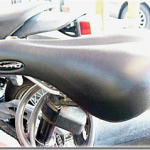 電動アシストクロスバイクハリヤで実際に通勤してみて_その1-バッテリーとサドルについて