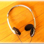 ヘッドホーンのイヤーパットの補修