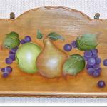 フルーツの「タオルかけ」