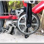 電動アシストクロスバイクハリヤのチェーン交換をしました。完全な限界越え状態でした。おかげで、いろんなことがわかりました。