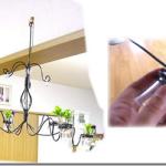 吊り下げランプ型の花器
