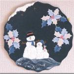 スノーマンの雪だるまボード