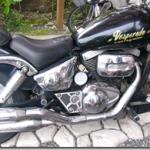 バイクの盗まれた工具収納ケースの蓋の対応