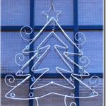 ワイヤークリスマスツリー